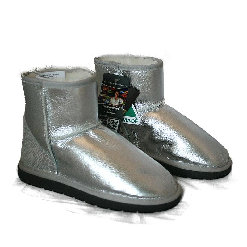 be3309e29b3 Australian Made Shearers UGG Boots Mini Glitter Short Boots